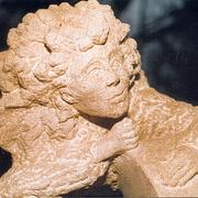 Skulptur einer Frau