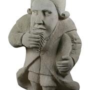 Skulptur des trinkfesten Perkeo aus Heidelberg