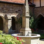 Brunnen in St. Mauritius, Hildesheim