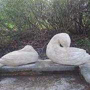 Enten-Skulpturen
