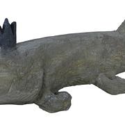 Hecht-Skulptur