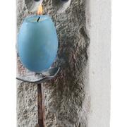 Kerzenhalter aus Kalkstein