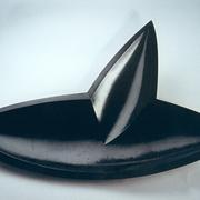 Deko-Schale in Blattform