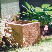 Cassa im Garten