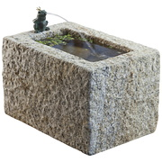 Granit-Rockpot mit Frosch