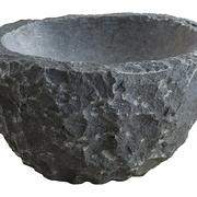 Gartenschale aus Granit