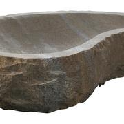 Gartenschale aus Sandstein