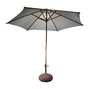 Schirmständer mit Schirm