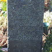 Stele aus Diabast