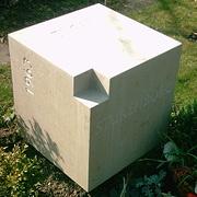Einzelgrabmal aus Sandstein