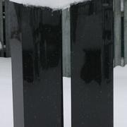 Zweiteiliger Doppelstein aus Granit