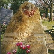 Bruchrauer Kalkstein mit Phönix