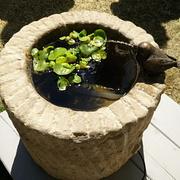 Zylinder-Brunnen