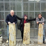 Steffi zu Besuch aus Carrara (Italien)